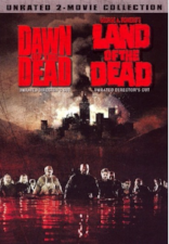 Dawn of the Dead + Land of the Dead DVD Cover